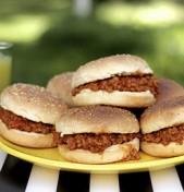 Διαφορετικά burgers (με καρότο)