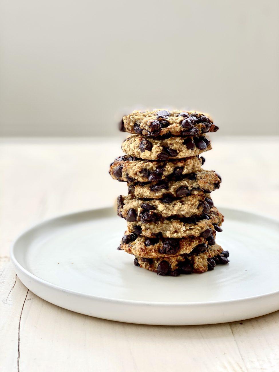 cookies με 3 υλικά χωρίς ζάχαρη